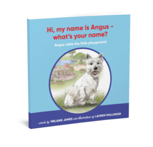 HI My name is Angus by Melaine James